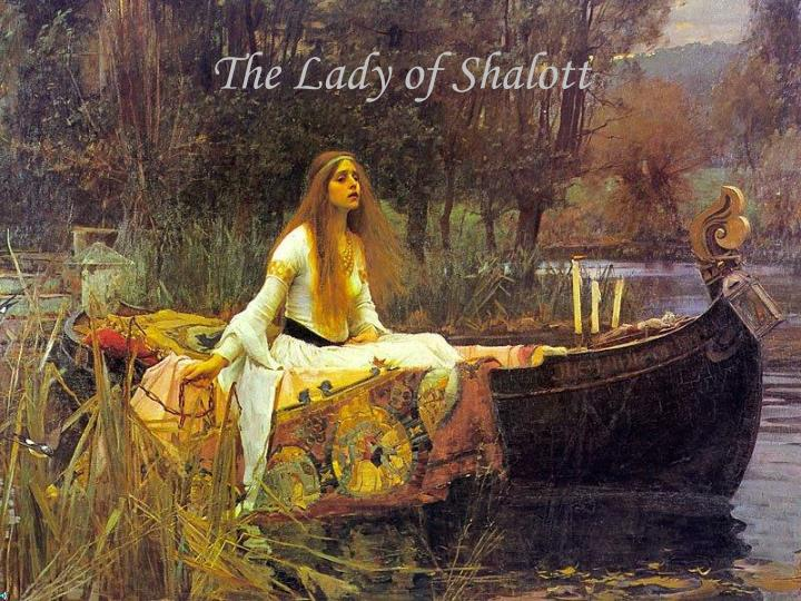 the lady of shalott n.