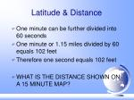 latitude distance32