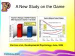 a new study on the game
