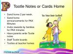 tootle notes or cards home