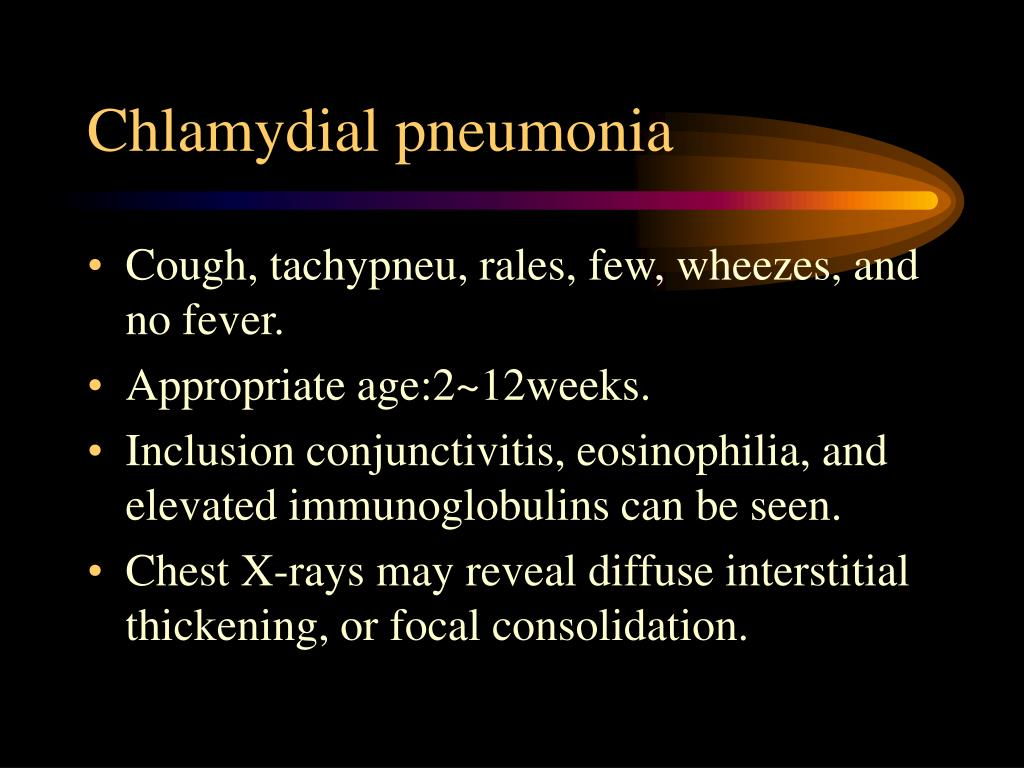 Chlamydial pneumonia