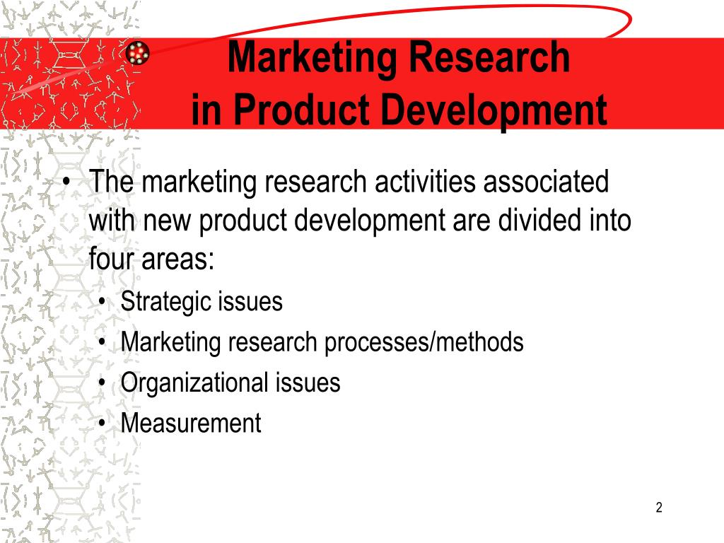 market research for a new product Launching a new product or –author david lavenda is a product strategy and marketing executive at a high-tech company he also does academic research on.