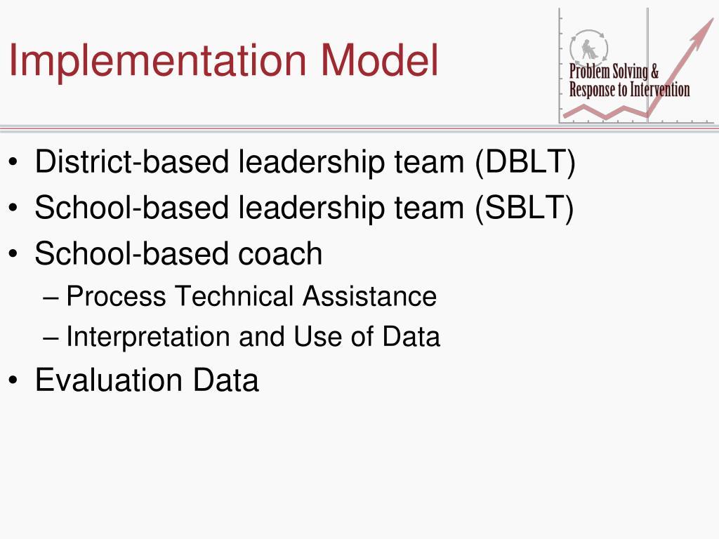 Implementation Model