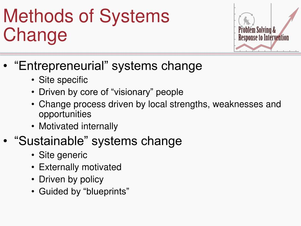 Methods of Systems Change