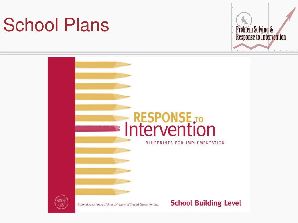School Plans