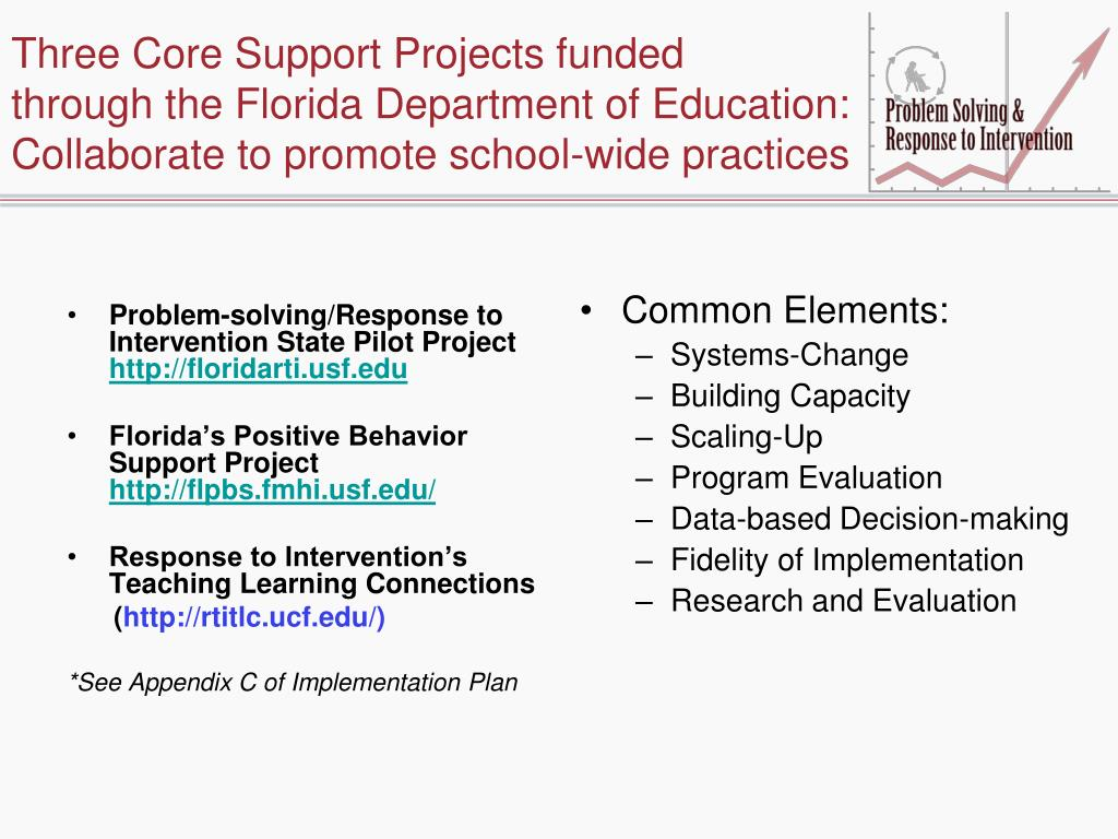 Three Core Support Projects funded
