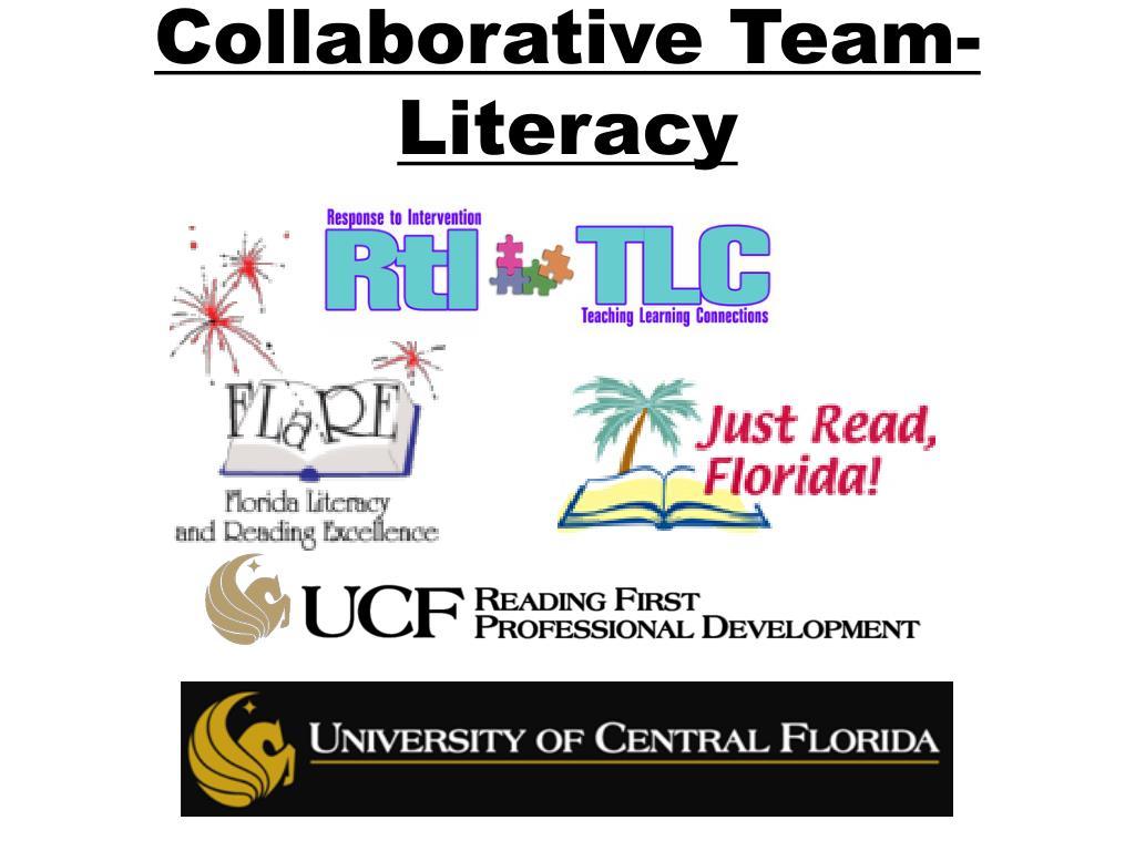 Collaborative Team-Literacy