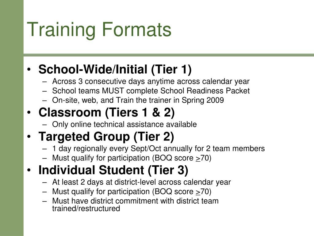 School-Wide/Initial (Tier 1)