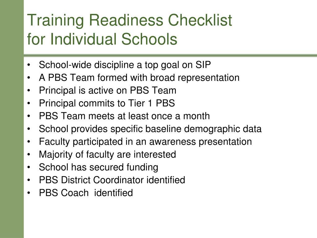 School-wide discipline a top goal on SIP