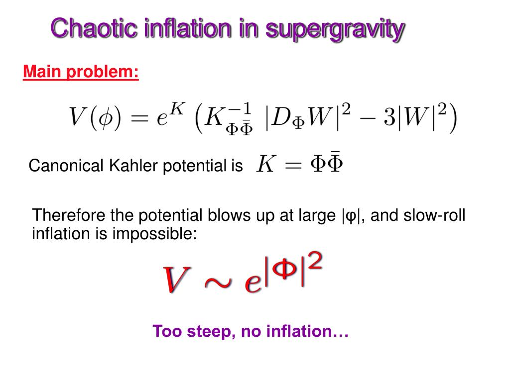 Chaotic inflation in supergravity