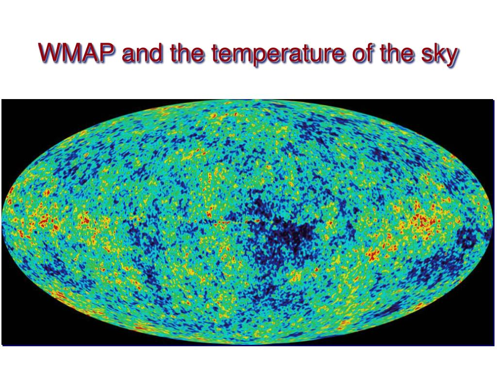 WMAP and the temperature of the sky