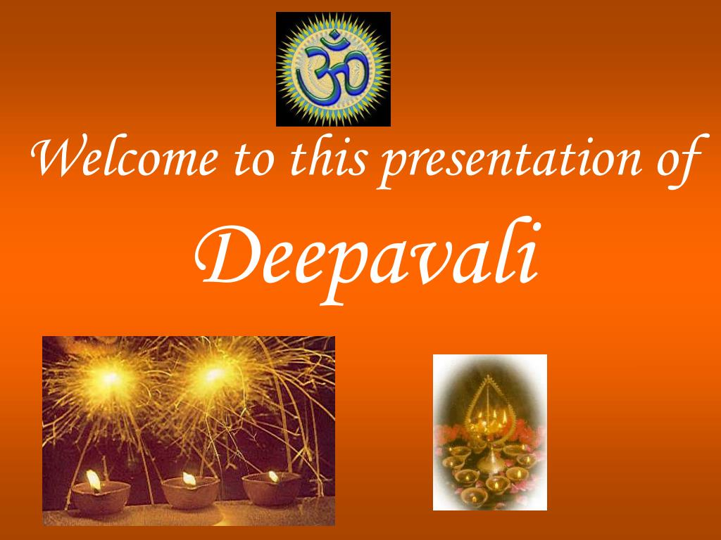 welcome to this presentation of deepavali l.