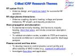 c mod icrf research themes