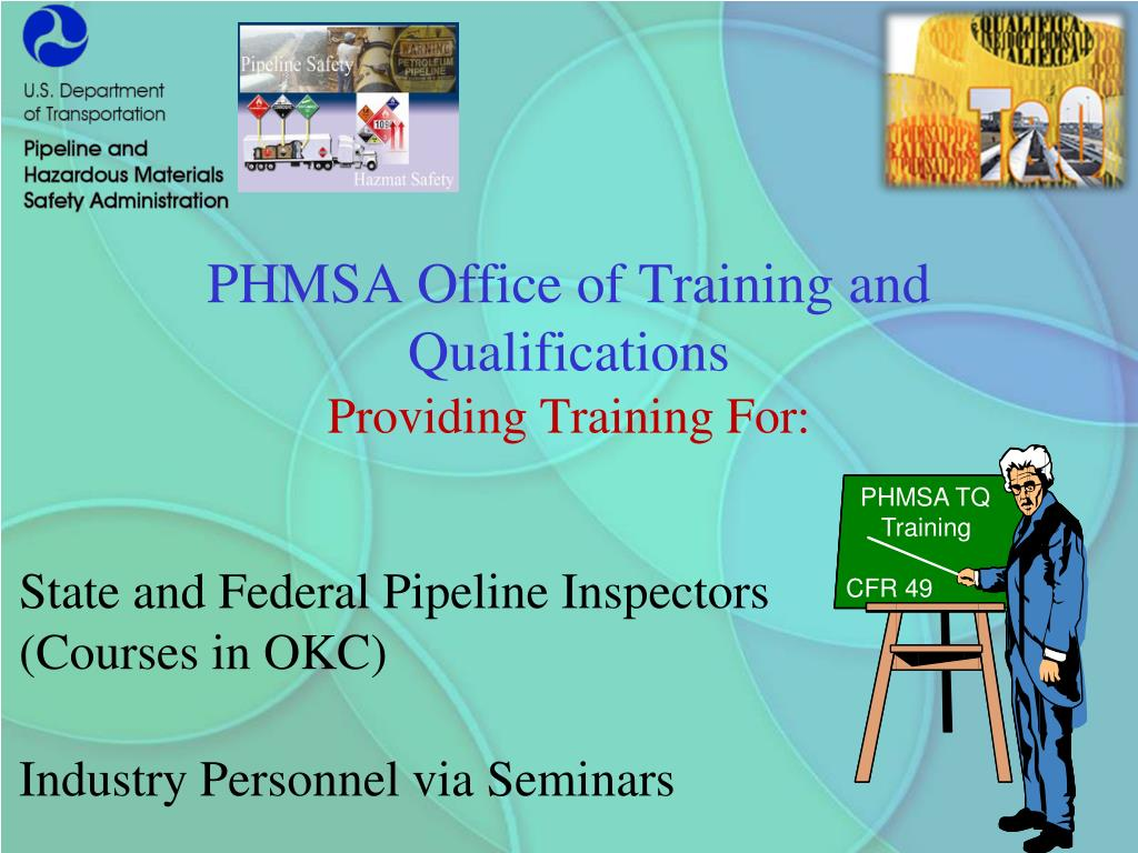 PHMSA Office of Training and Qualifications