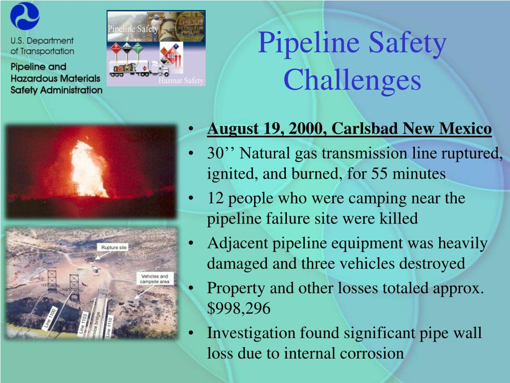 Pipeline Safety Challenges