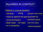 injuries in context8
