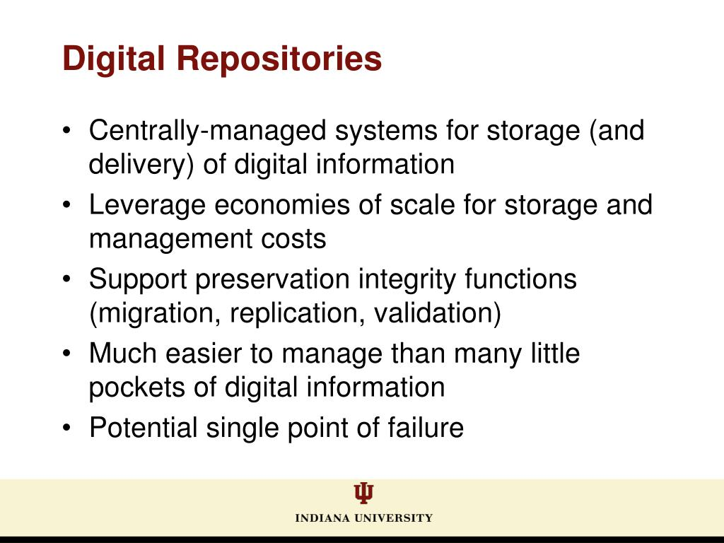 Centrally-managed systems for storage (and delivery) of digital information