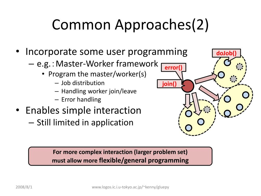 Common Approaches(2)