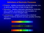 definitions of electronic processes