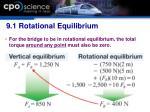 9 1 rotational equilibrium20