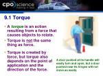 9 1 torque7
