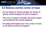 9 2 balance and the center of mass31
