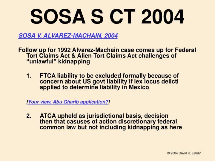 SOSA S CT 2004
