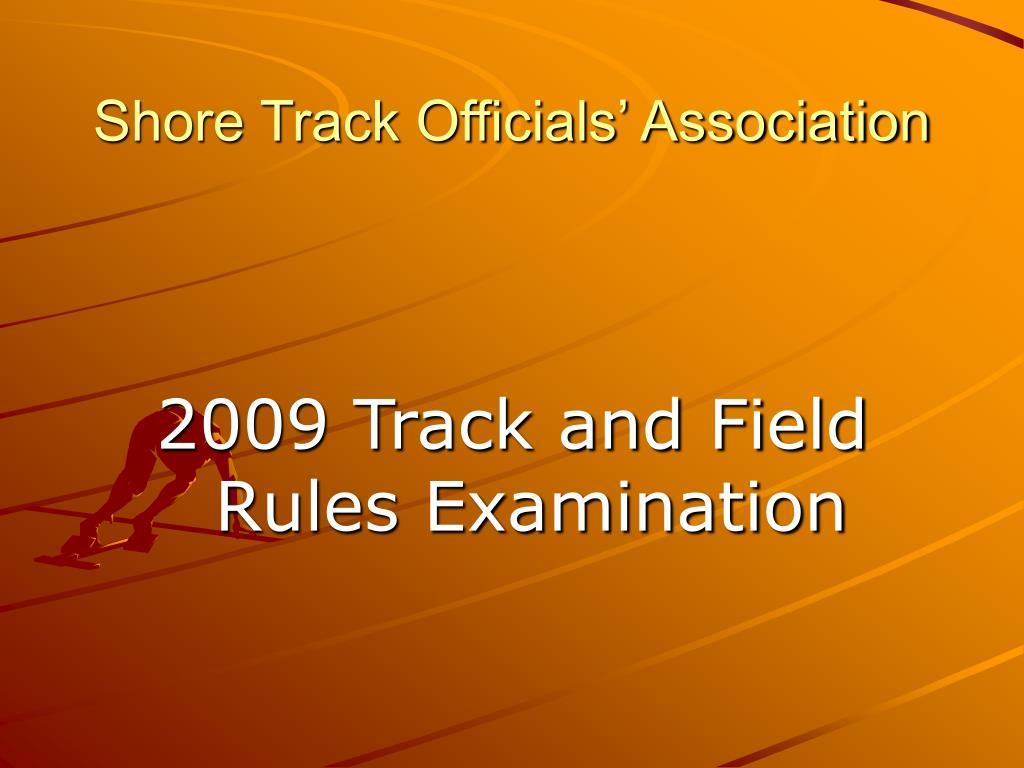 shore track officials association