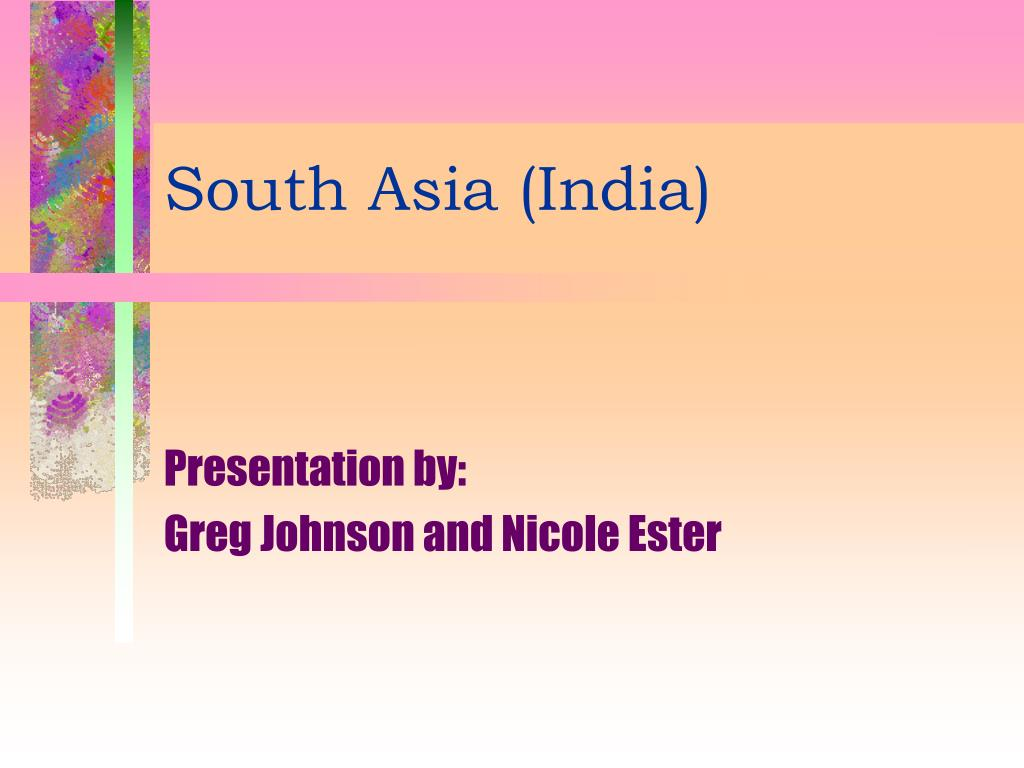 south asia india l.