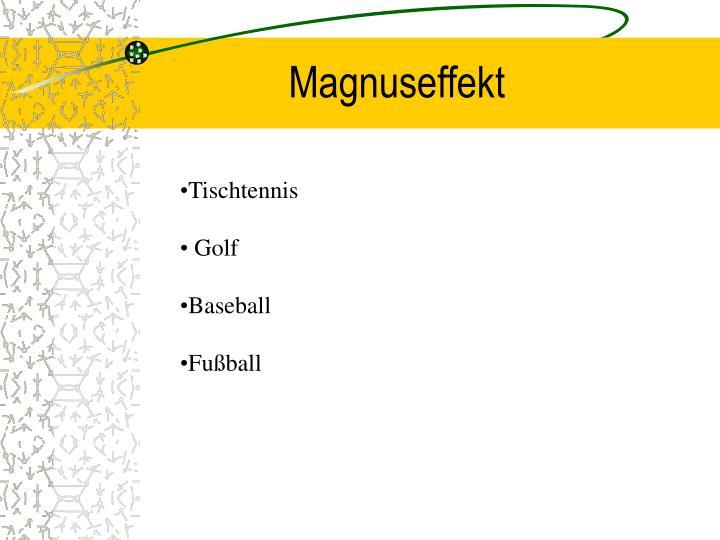 Magnuseffekt
