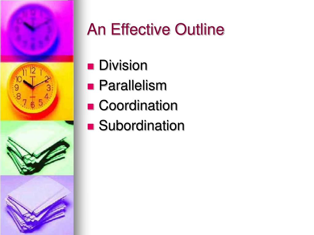 An Effective Outline