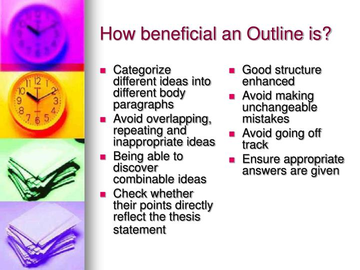 How beneficial an outline is
