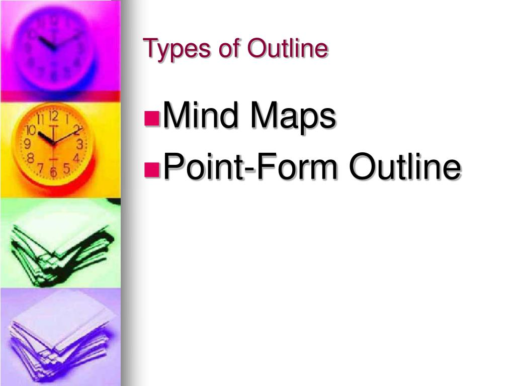 Types of Outline