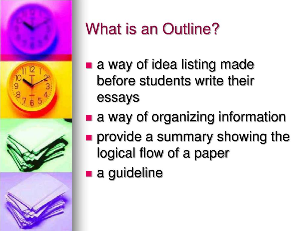 What is an Outline?