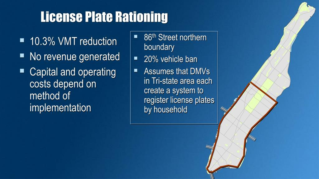 License Plate Rationing