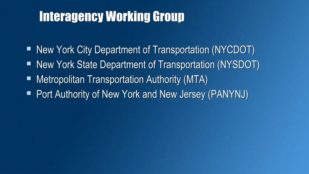 Interagency Working Group