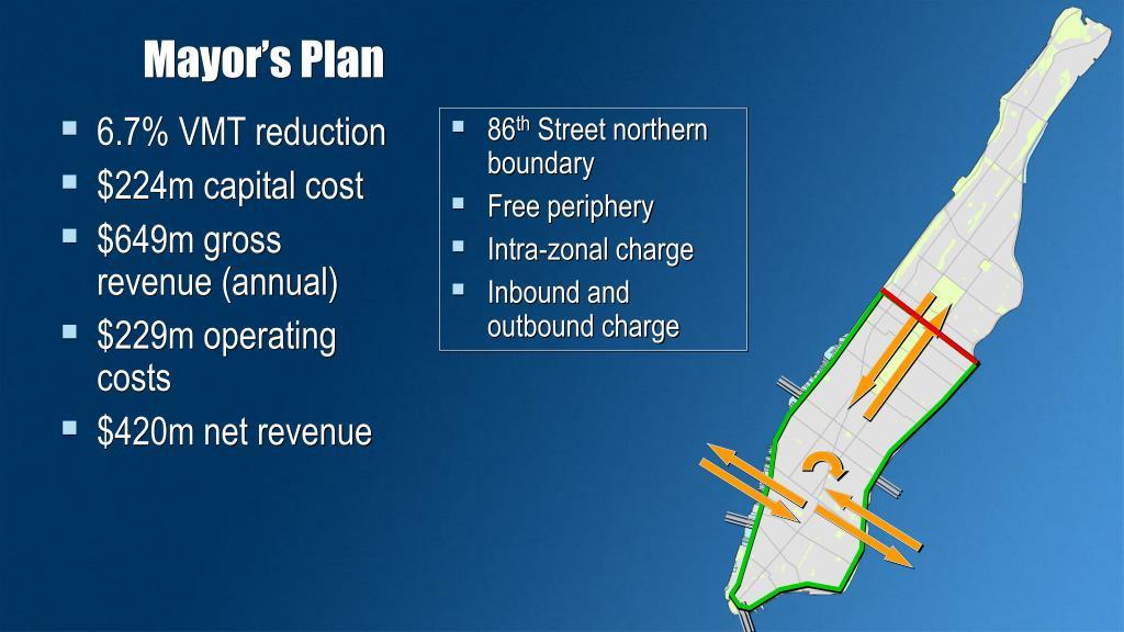 Mayor's Plan