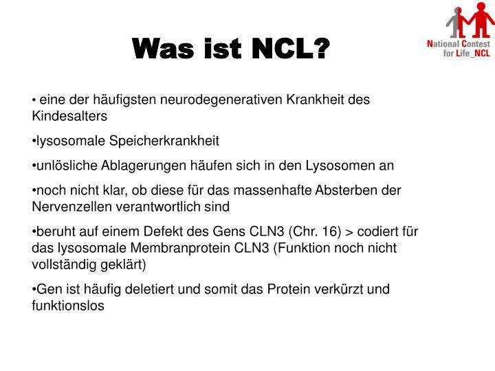 Was ist NCL?