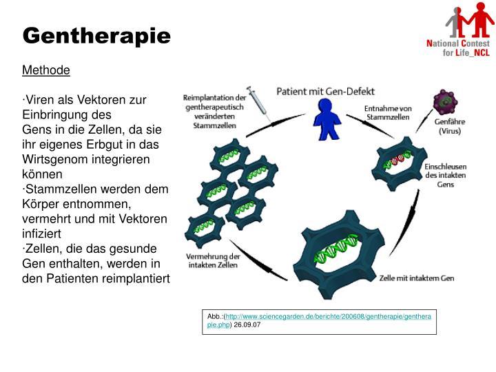 Gentherapie