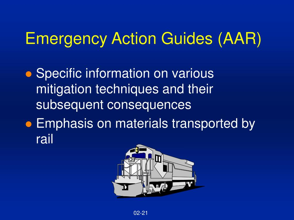 Emergency Action Guides (AAR)