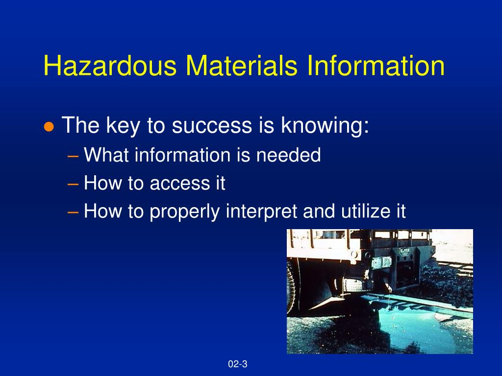Hazardous Materials Information