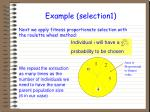 example selection1
