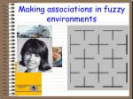 making associations in fuzzy environments