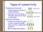 types of connectivity