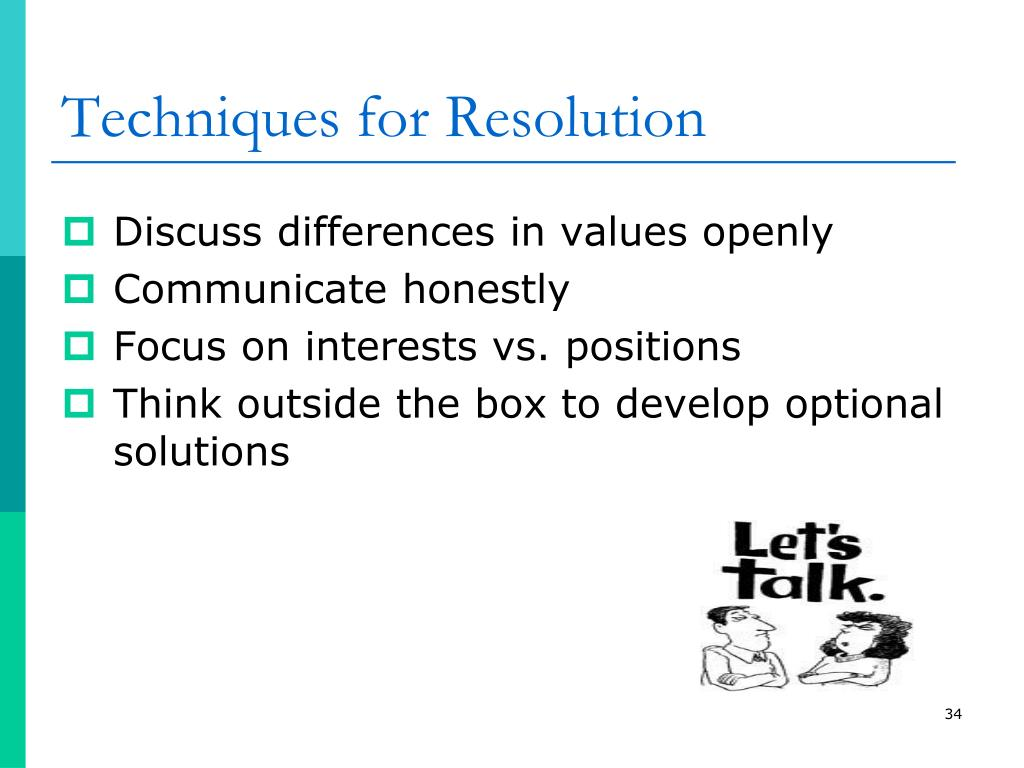 Techniques for Resolution
