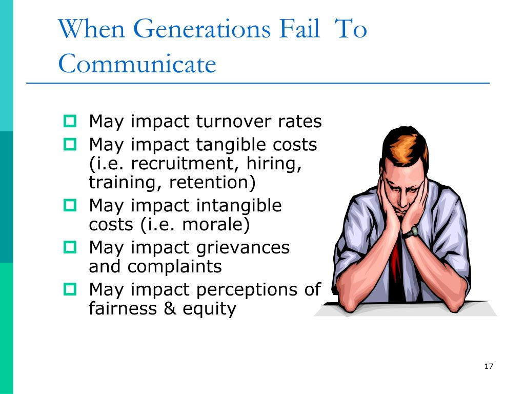 When Generations Fail  To Communicate