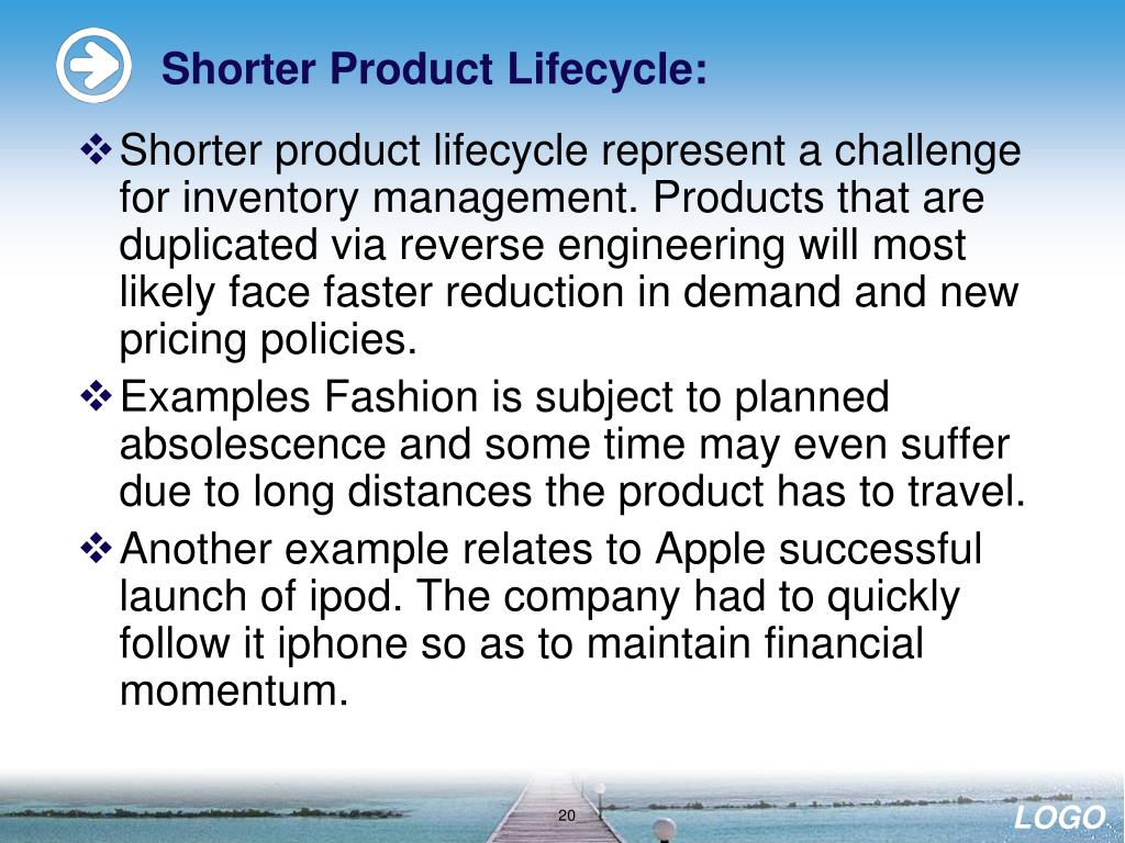 Shorter Product Lifecycle:
