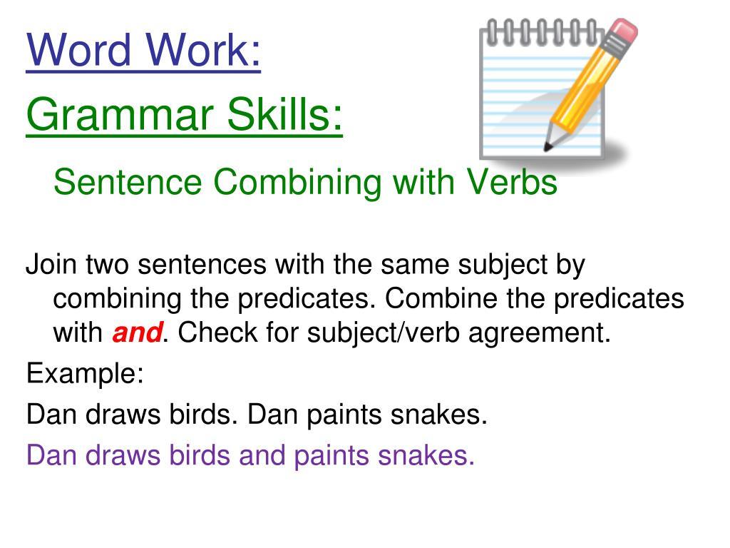 Word Work: