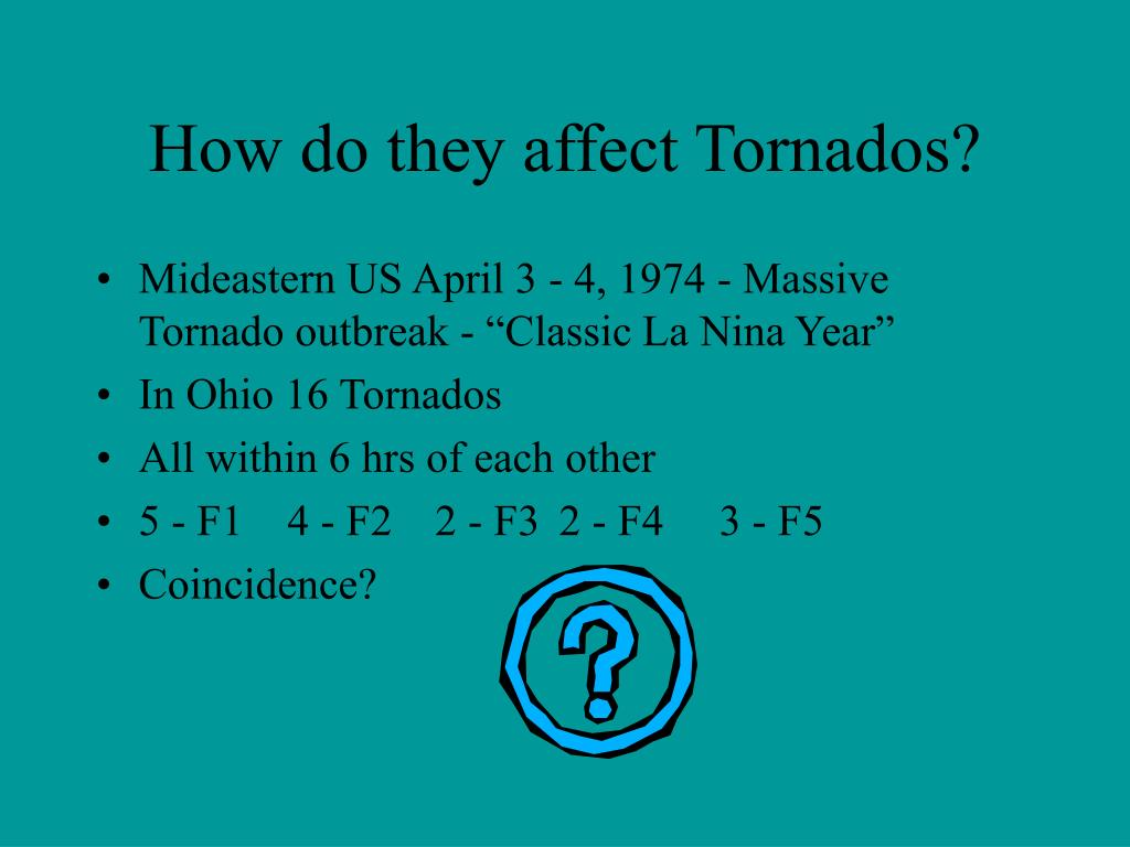 How do they affect Tornados?