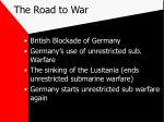 the road to war24